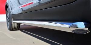 KIA SPORTAGE 2014- Пороги труба d63 (вариант 1) KSGT-001670